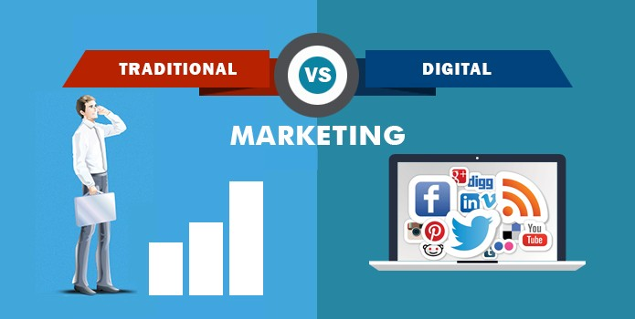 11 advantages of Digital Marketing over Traditional Marketing